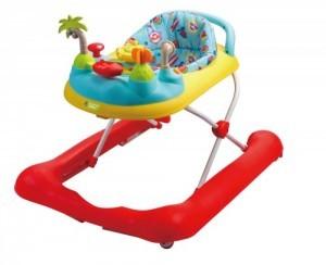 Los primeros pasos de tu bebé con andador