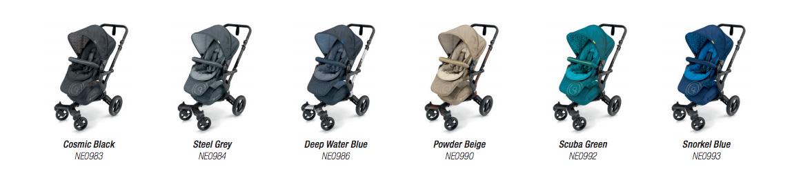 colores del concord mobility neo
